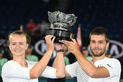 Australian Open. Крейчикова и Мектич выиграли финал в миксте