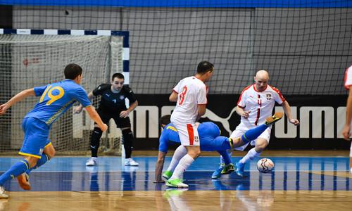 Украина проиграла Сербии на старте элит-раунда квалификации ЧМ-2020