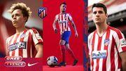 Атлетико представил форму на новый сезон