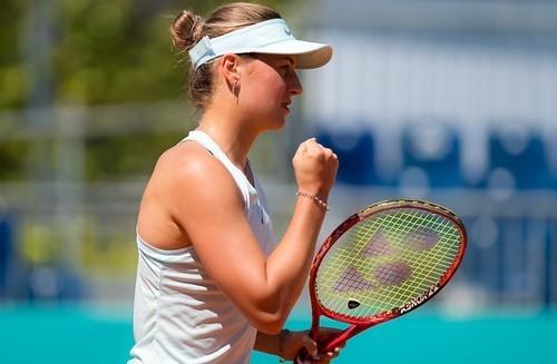 ВИДЕО. Как Костюк впервые вышла в четвертьфинал турнира WTA