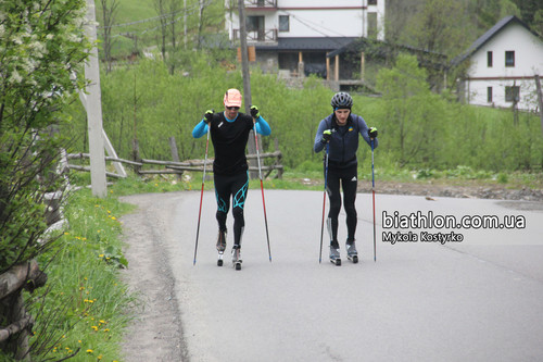 Українські біатлоністи розпочали перші тренувальні збори