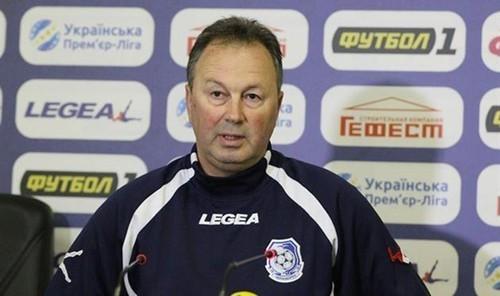 Червенков – найкращий тренер 30-го туру УПЛ