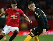 Манчестер Юнайтед сыграл вничью с Вулверхэмптоном
