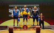 Украинцы завоевали четыре медали на этапе Кубка мира по тяжелой атлетике