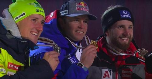 Горные лыжи. Пинтуро выиграл гигант в Гармише