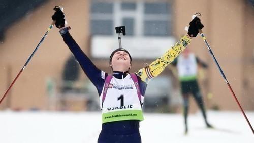 ЮЧМ-2020 по биатлону. Бех не смогла завоевать медаль в персьюте