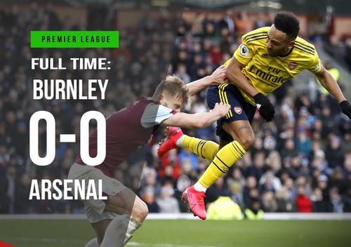 Арсенал в гостях не зумів перемогти Бернлі