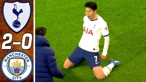 Тоттенхэм – Манчестер Сити – 2:0. Видео голов и обзор матча
