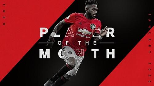 Фред визнаний найкращим гравцем Манчестер Юнайтед в січні