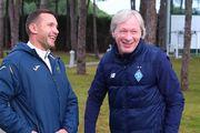 ВИДЕО. Шевченко посетил тренировочный лагерь Динамо