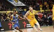 ВИДЕО. Как Киев-Баскет битву за первое место в группе Кубка ФИБА проиграл
