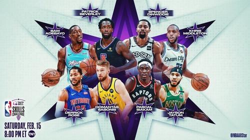 Оголошено учасників конкурсу майстерності Вікенду всіх зірок НБА