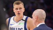 ВИДЕО. Как латвийскому баскетболисту НБА сломали нос во время матча