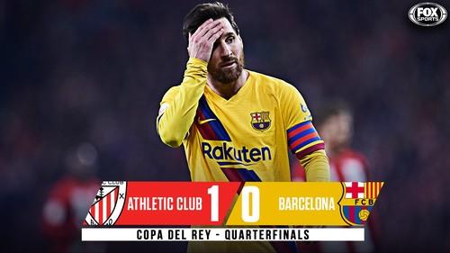 Атлетик – Барселона – 1:0. Видео гола и обзор матча