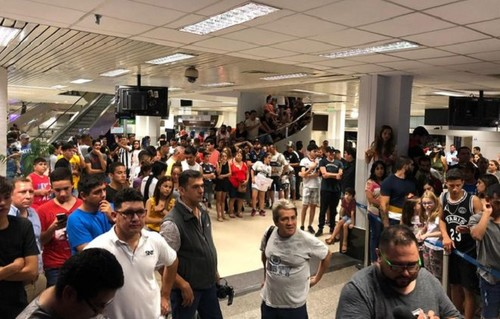 ВІДЕО ДНЯ. Дерлісу Гонсалесу організували фантастичний прийом в Асунсьйоні