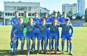 Украина U-17 обыграла Бельгию