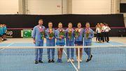 ФОТО. Як збірна України з тенісу Естонію підкорювала