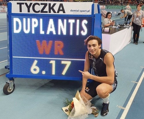 ВИДЕО. Новый Бубка! 6.17! Дюплантис побил мировой рекорд в прыжках с шестом