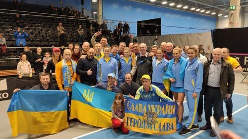 Стали известны возможные соперницы Украины в Кубке Федерации