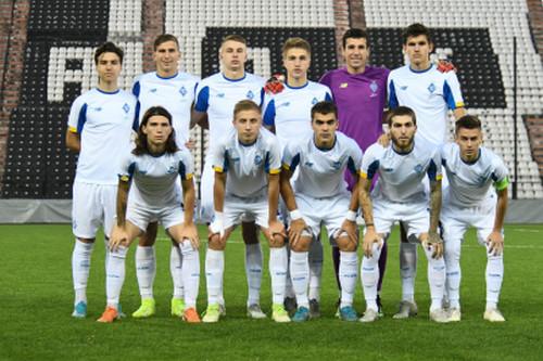 Динамо дозаявило четверых игроков на Юношескую лигу УЕФА