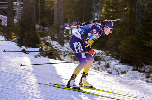 Украинка Журавок стала третьей в масс-старте на Кубке IBU