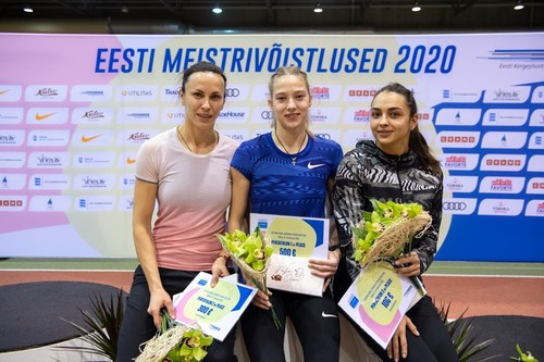 Украинские легкоатлетки завоевали три медали на турнире в Таллине