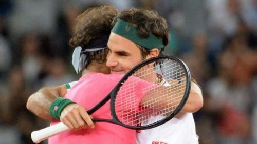 ВИДЕО. Как Федерер и Надаль зажигали на выставочном матче в ЮАР