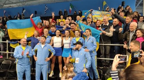 Несмотря на три победы, Украина потеряла сразу 6 позиций в рейтинге Fed Cup
