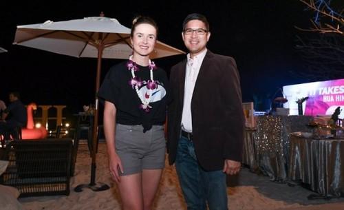 ФОТО. Элина Свитолина - на вечеринке игроков в Хуахине