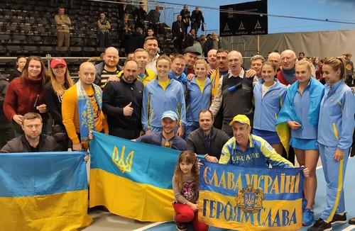 Сборная Украины узнала соперника в плей-офф Кубка Федерации