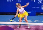 Хуахин. Свитолина выиграла первый матч в одиночном разряде