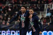 ПСЖ і Ліон пробилися у півфінал Кубка Франції