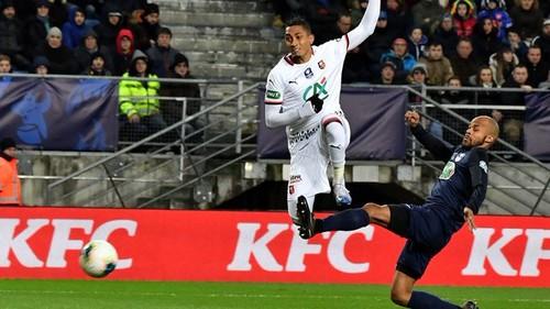 Ренн уверенно вышел в полуфинал Кубка Франции