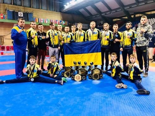 25 медалей виграла збірна України на Кубку Європи з кікбоксингу WAKO