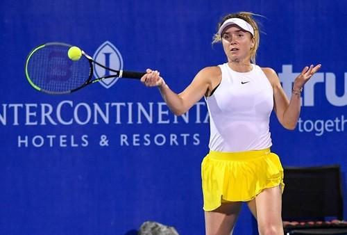 ВИДЕО. Как Свитолина выходила во второй круг на турнире в Хуахине