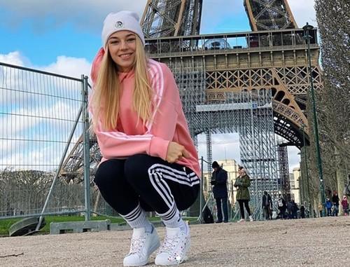 ФОТО. Билодид на фоне Эйфелевой башни после победы в Париже