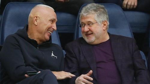Ярославский и Коломойский вместе посмотрели баскетбол