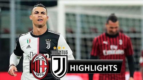 Милан – Ювентус – 1:1. Видео голов и обзор матча