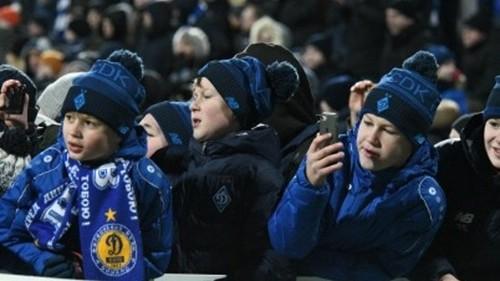 ОФІЦІЙНО. Динамо на матч з Ворсклою пустить дітей і батьків
