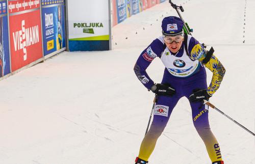 ЧМ-2020 по биатлону. Пидгрушная сенсационно заняла 4 место в спринте