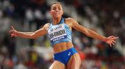 Украинка Бех-Романчук вновь показала лучший результат в прыжках в длину