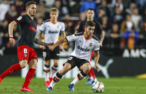 Валенсия и Атлетико разошлись миром в результативном матче