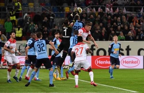 Фортуна — Боруссия Менхенгладбах — 1:4. Видео голов и обзор матча