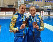 Украинки Федорова и Шелестюк завоевали бронзу на Гран-при в Мадриде