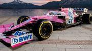ФОТО. Команда Формулы-1 Рэйсинг Поинт последней презентовала новый болид