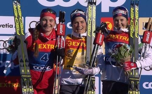 Лыжные гонки. Йохауг выиграла преследование в Эстерсунде