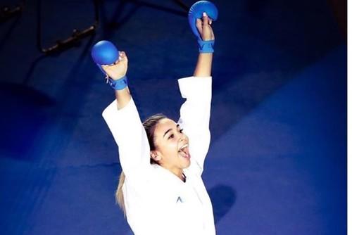 Каратистка Терлюга завоевала золотую медаль на соревнованиях в Дубае