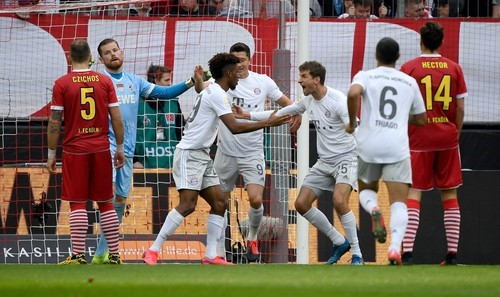Кельн – Бавария – 1:4. Видео голов и обзор матча