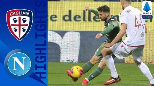 Кальяри — Наполи — 0:1. Видео гола и обзор матча