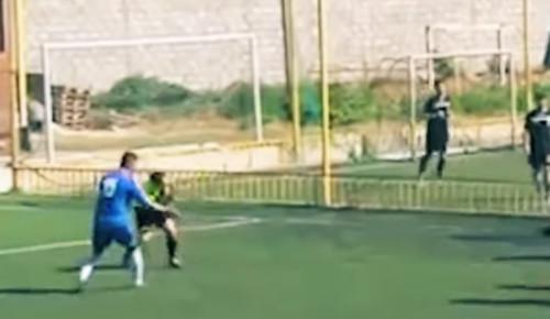 ВИДЕО. Крутые голы, забитые не футболистами